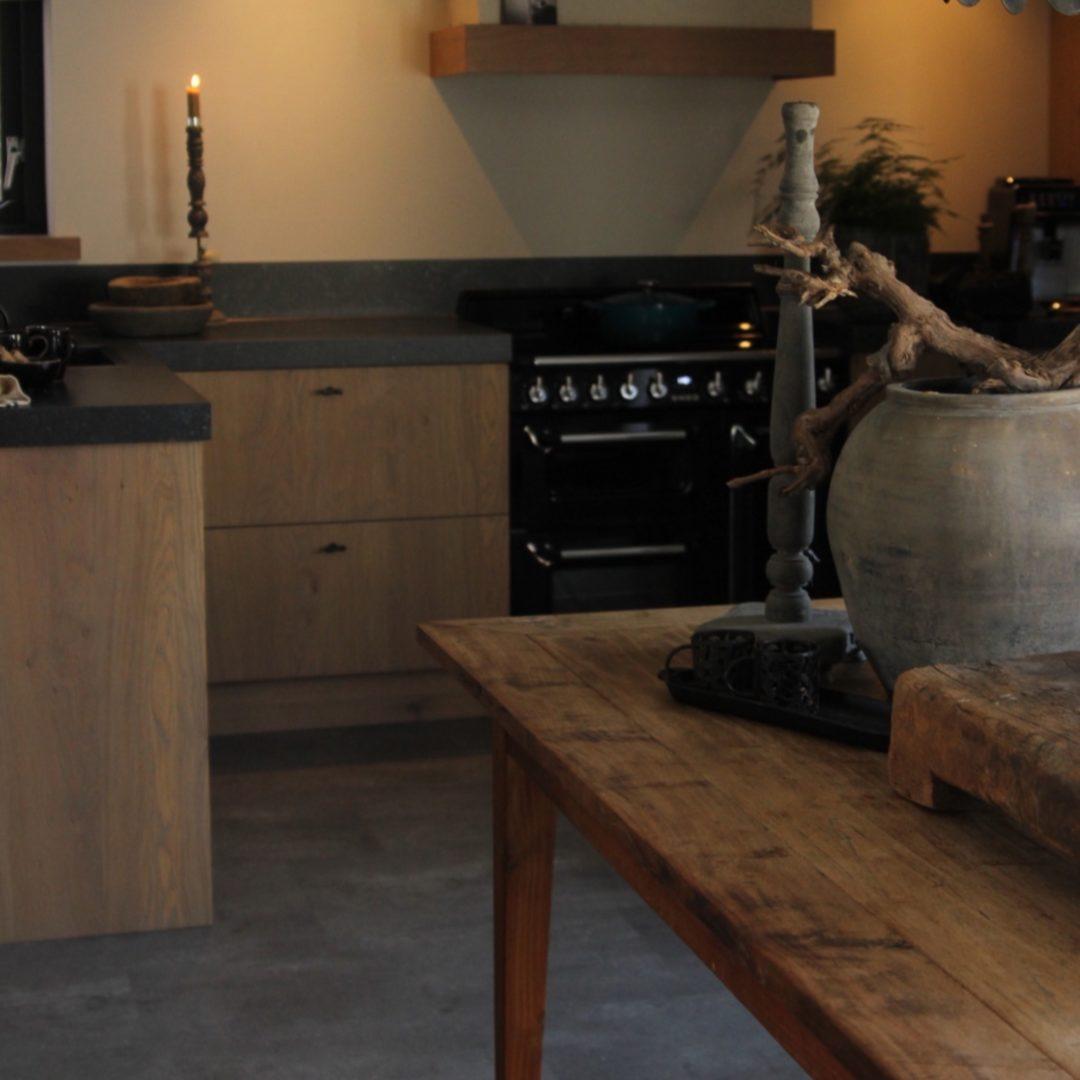 Eiken keuken